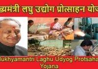 Mukhyamantri Laghu Udyog Protsahan Yojana