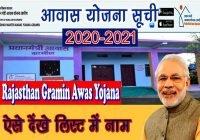 PM Awas Yojana List Rajasthan