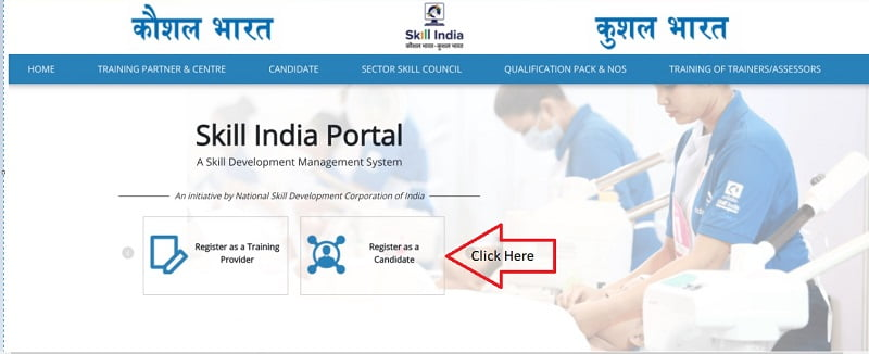 Register as a Candidate