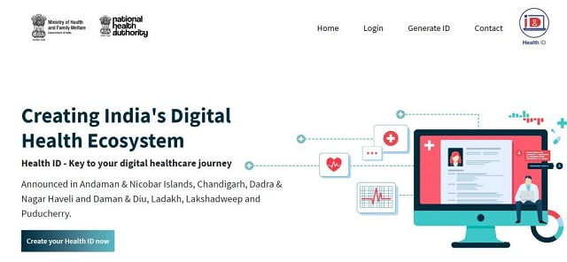 create health id card online